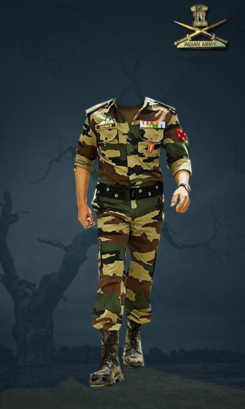 Indian Army Photo Suit Editor.