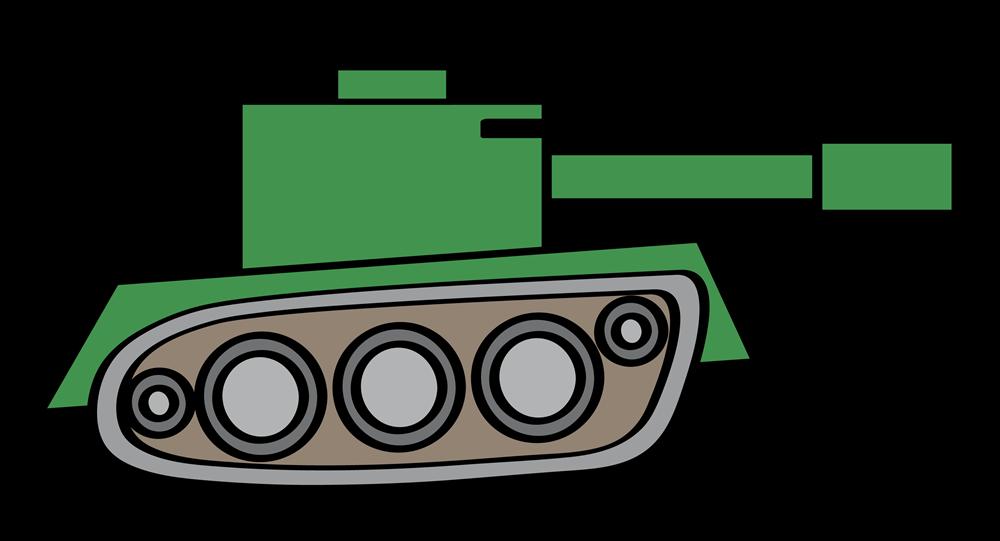 Drawing military tank.