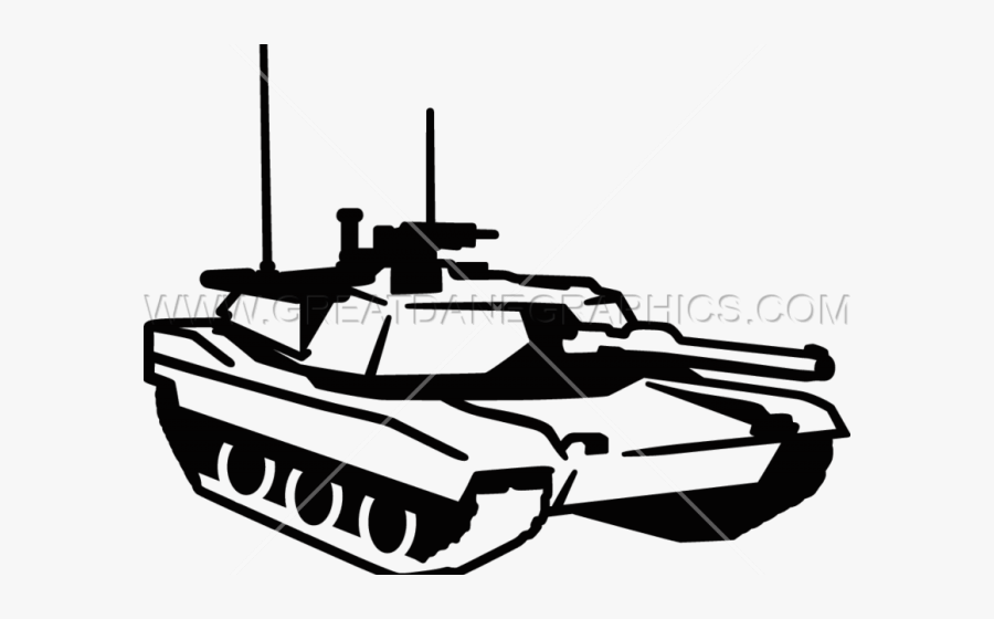 Black And White Tank Clipart , Free Transparent Clipart.