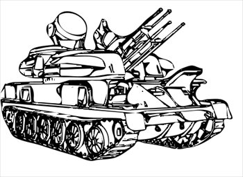 Military army tank clipart free clipart image 3.