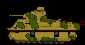 Army Tank Clip Art.