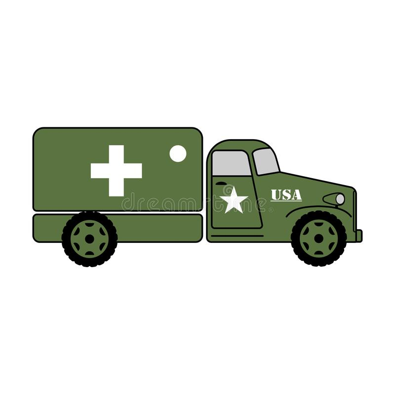 Army Truck Stock Illustrations.