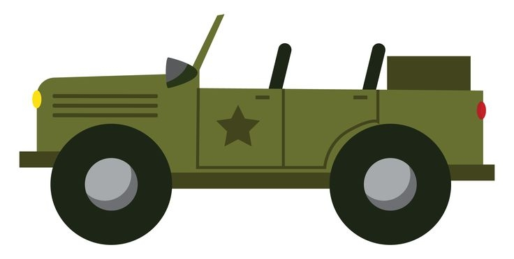 Army Car Clipart.