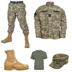 Army Uniform, आर्मी की वर्दी.