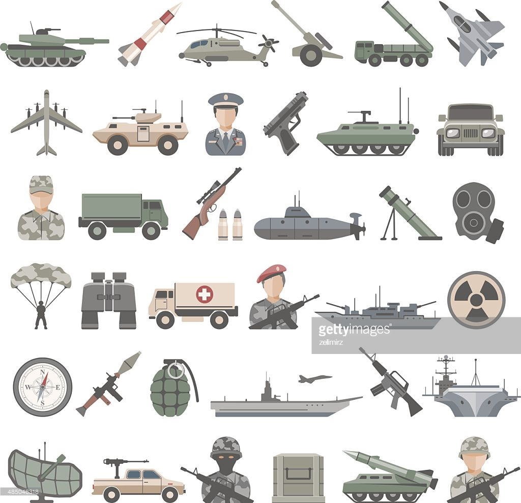 Army Vehicle Icon #52611.