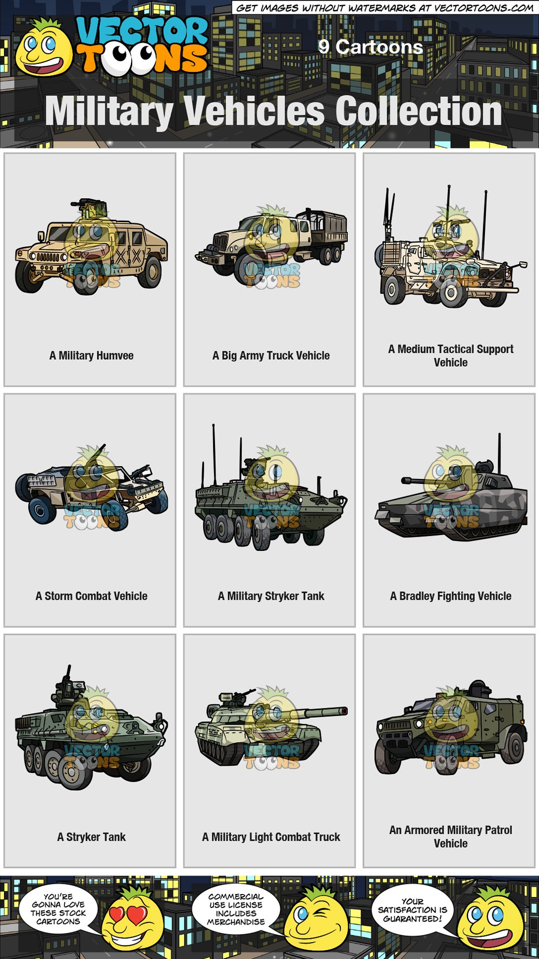 Military Vehicles Collection.