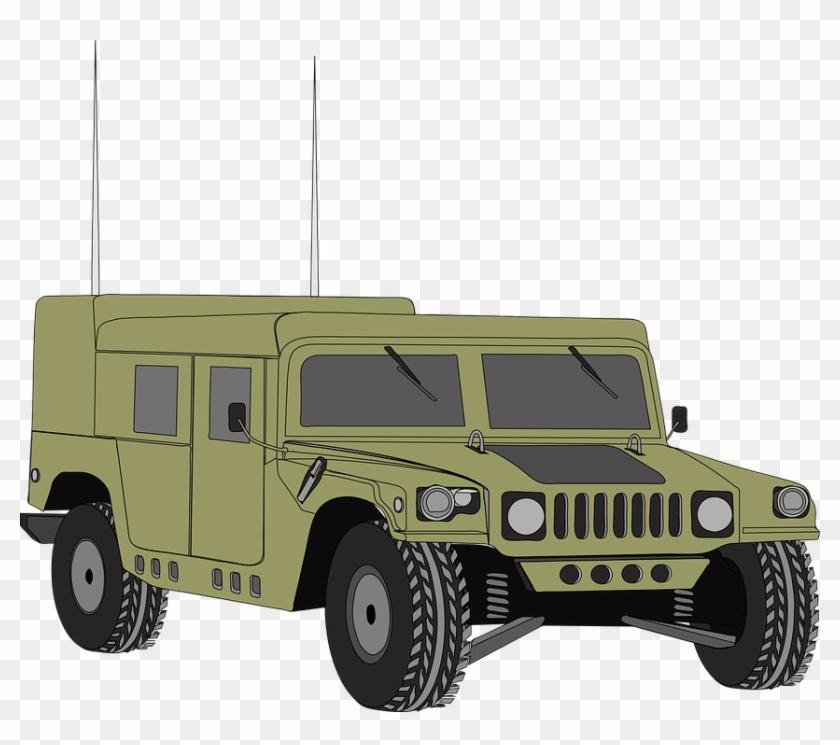 Hummer Vehicle Humvee Hum.