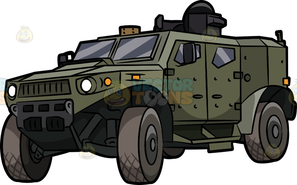 Army Vehicle Clipart.