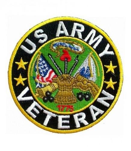 U.S. Army Logo Veteran Patch, Military Veteran Patches.