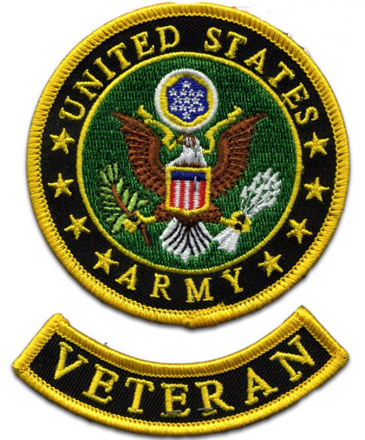 Army Logo Veteran Patch.