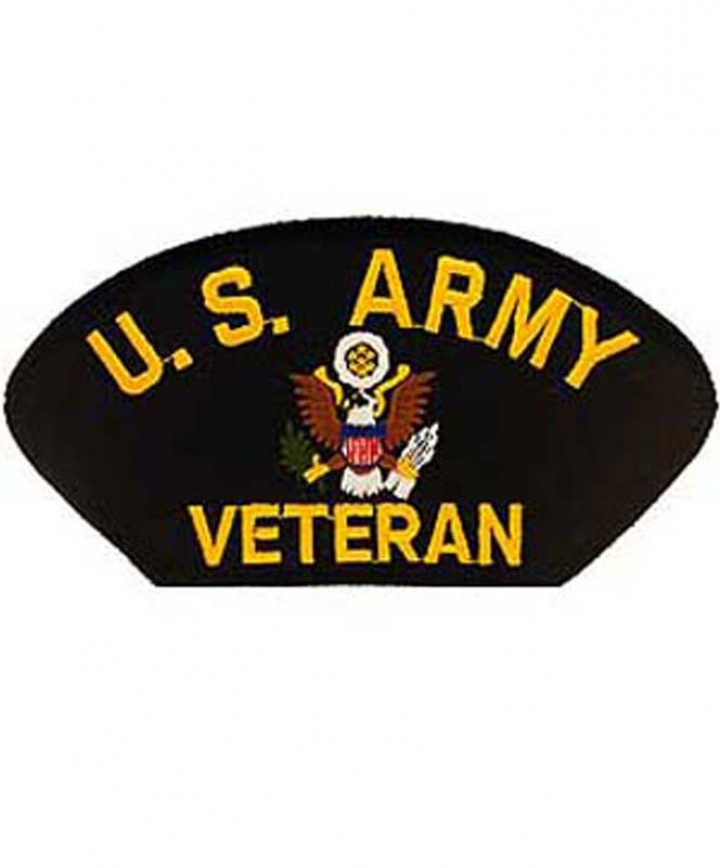 Army Veteran Hat Patch.