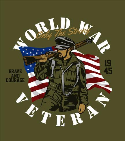 world war veteran.
