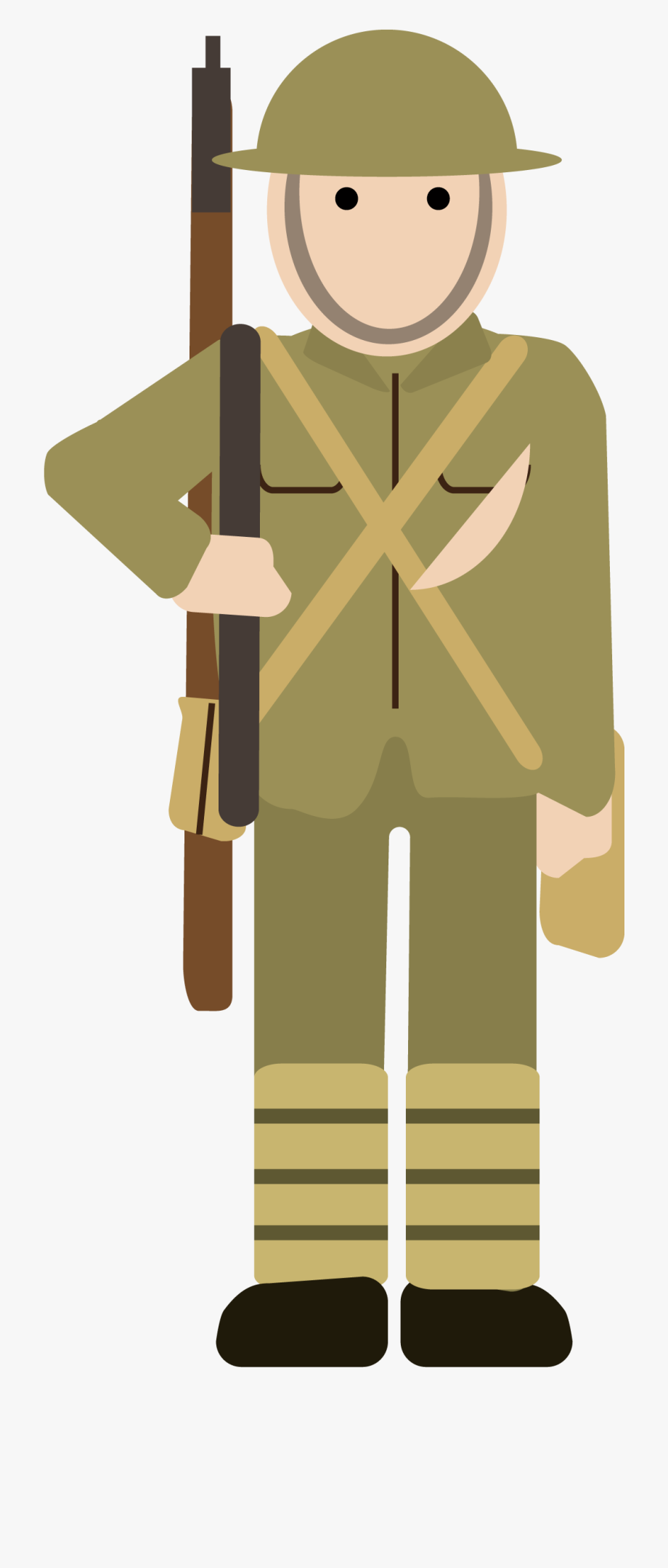 Military Clipart Soldier Ww1.