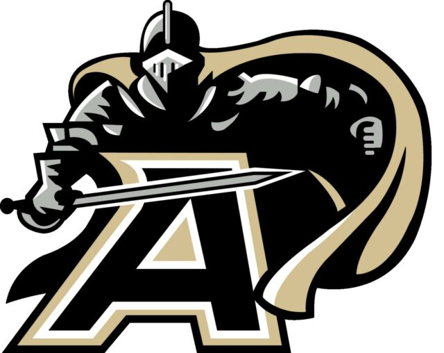 West Point Army Black Knights NCAA Color Vinyl Decal.