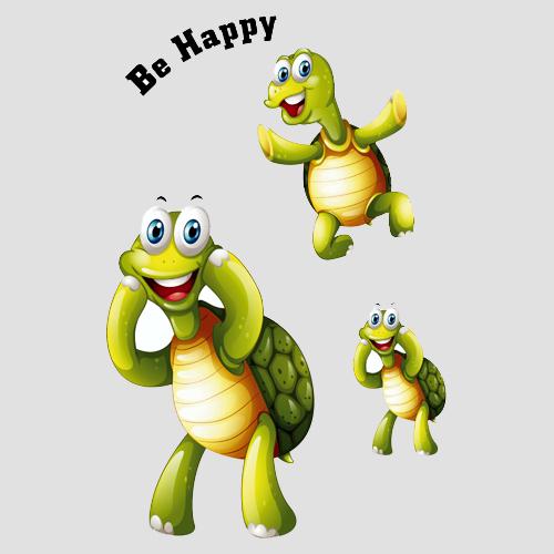 Schildkröte be happy.