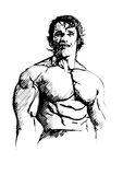 Arnold Schwarzenegger Terminator Editorial Stock Photo.
