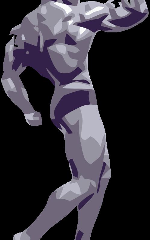 Arnold body clipart.