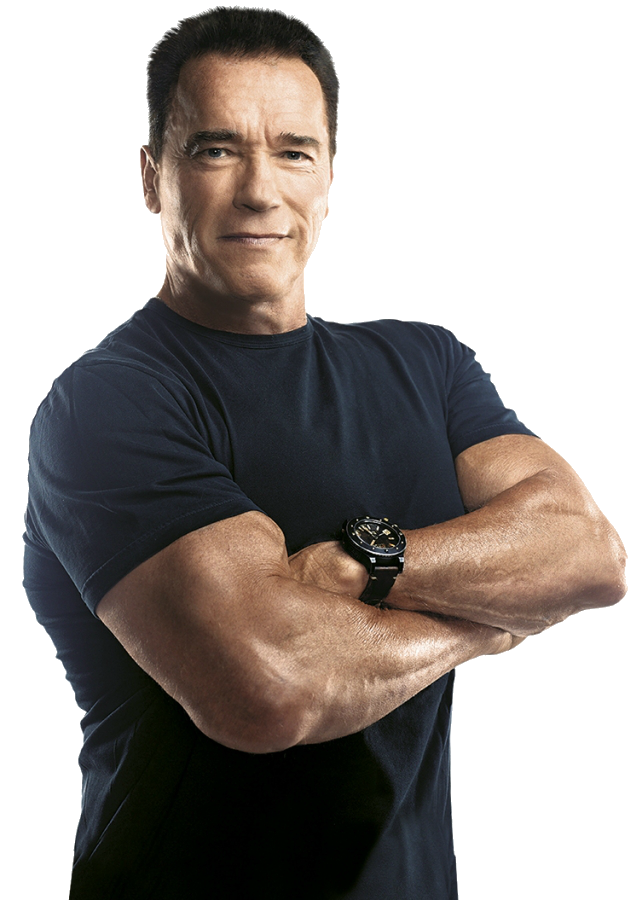 Download Arnold Schwarzenegger Transparent HQ PNG Image.