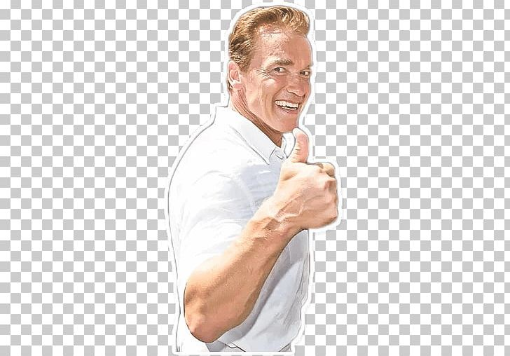 Arnold Schwarzenegger Sticker Telegram PNG, Clipart, Arm, Arnold.