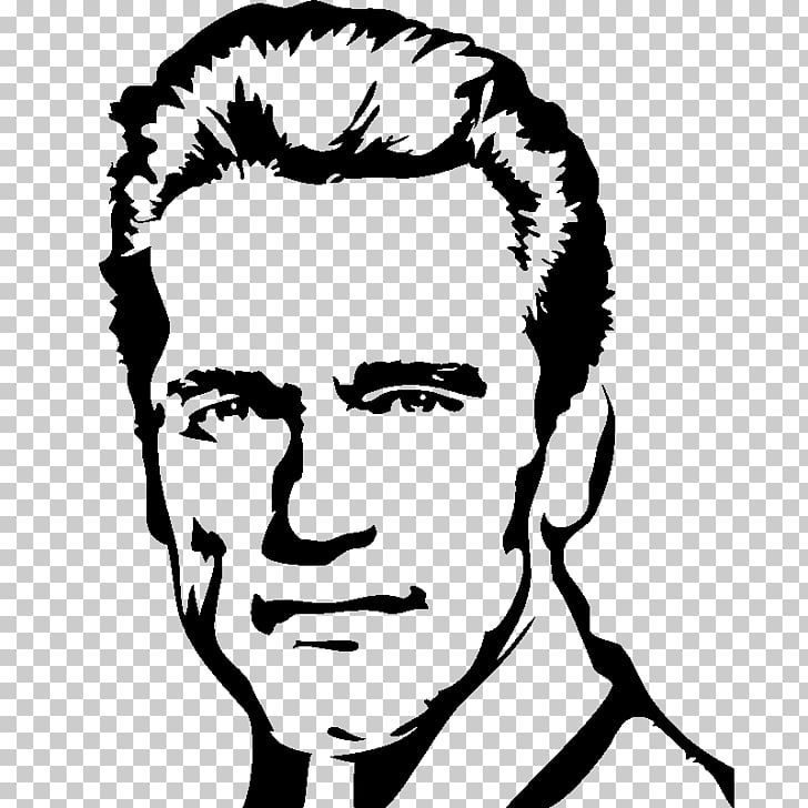 Arnold Schwarzenegger The Terminator Wall decal Sticker, arnold.
