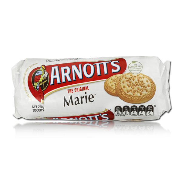 Arnott's Marie Biscuits 250g.
