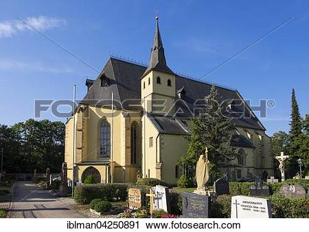 Stock Photography of Pilgrimage church Maria Sondheim, Arnstein.