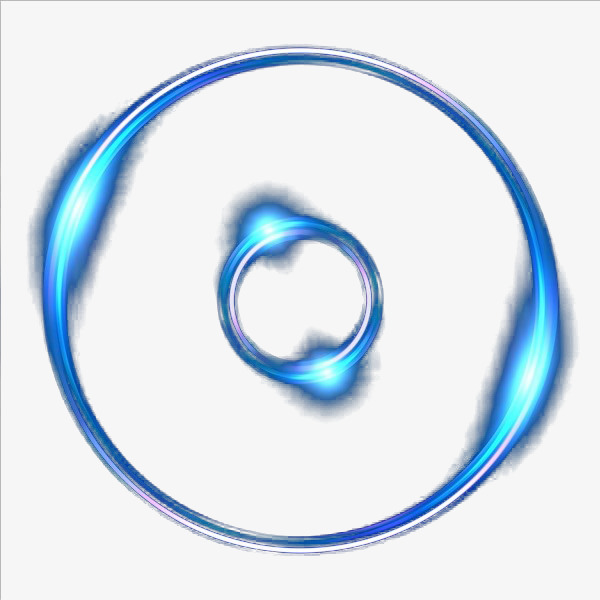 Blue Ring Light, Diamond, Glowing, Light PNG Transparent Image and.