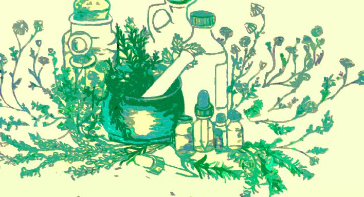 Essential Oils Clipart.