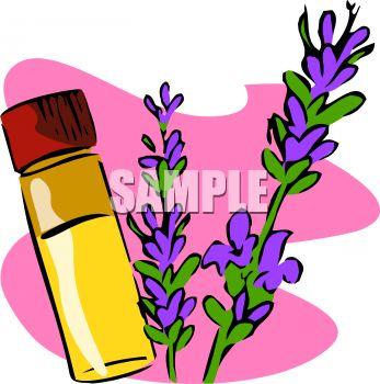 Essential Oils Clipart.