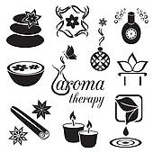 Aromatherapy Clip Art.