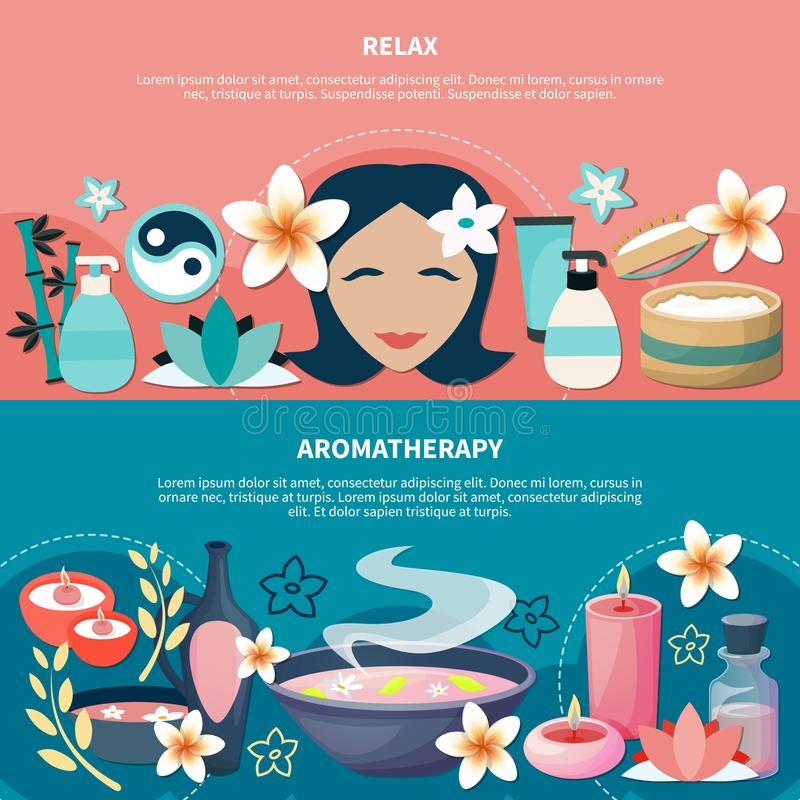 Aromatherapy Stock Illustrations.