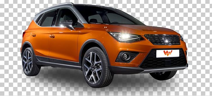 Mini Sport Utility Vehicle City Car SEAT Arona PNG, Clipart.