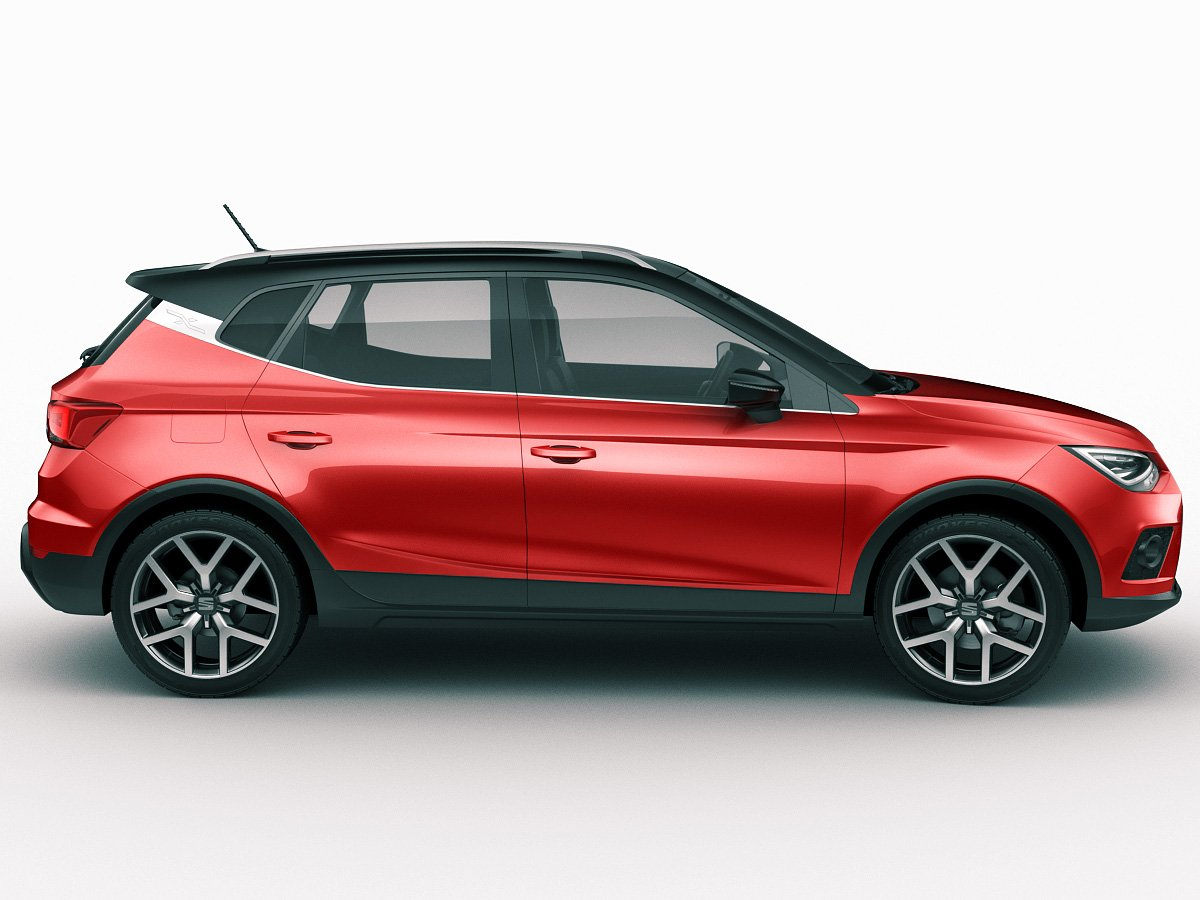 Seat Arona 2018 3D Model in SUV 3DExport.