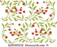 Aronia berries Clipart Illustrations. 18 aronia berries clip art.