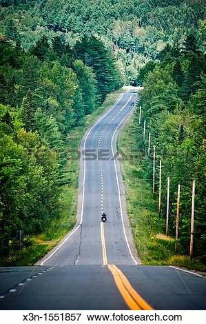 Picture of Haynesville Woods, Route 2 tombstone every mile.