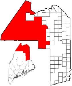 Northwest Aroostook, Maine.