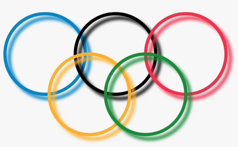 3d Olympic Rings Png.