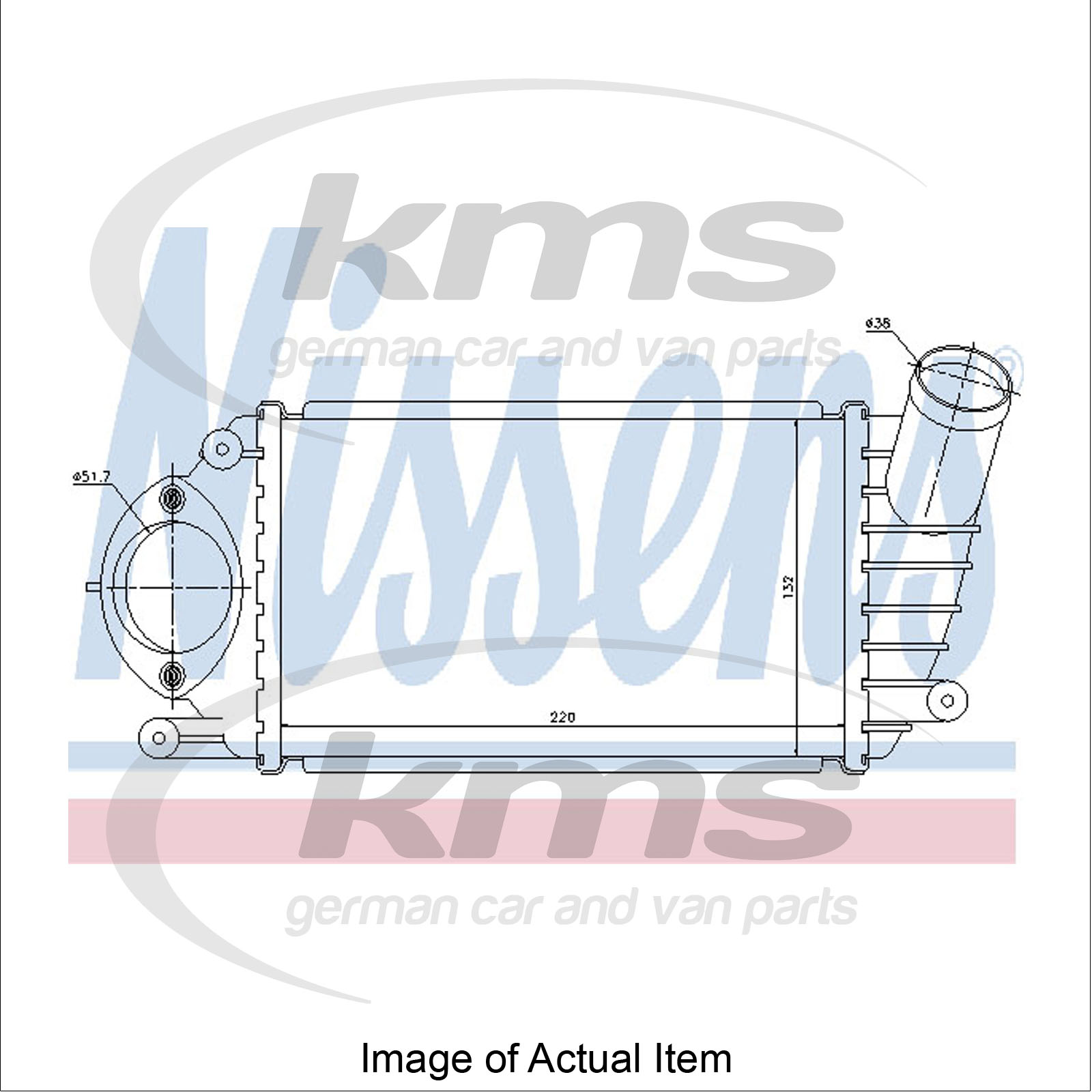 Intercooler SEAT AROSA (97.