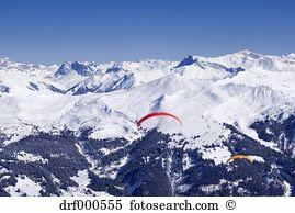 Paraglider sailor Stock Photo Images. 3 paraglider sailor royalty.