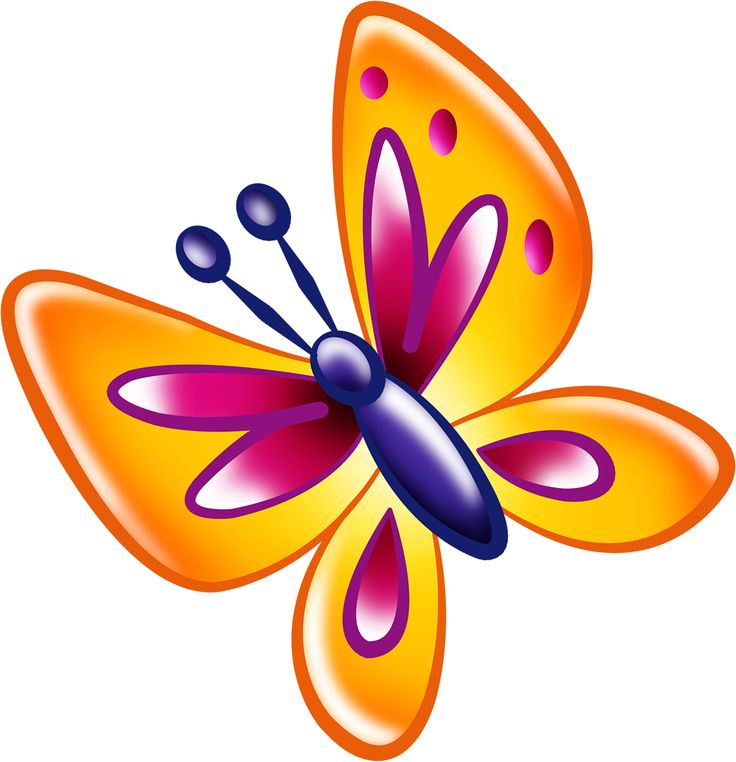 1000+ images about Butterfly clip art on Pinterest.