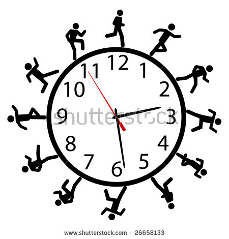 Around The Clock Stock Images, Royalty.