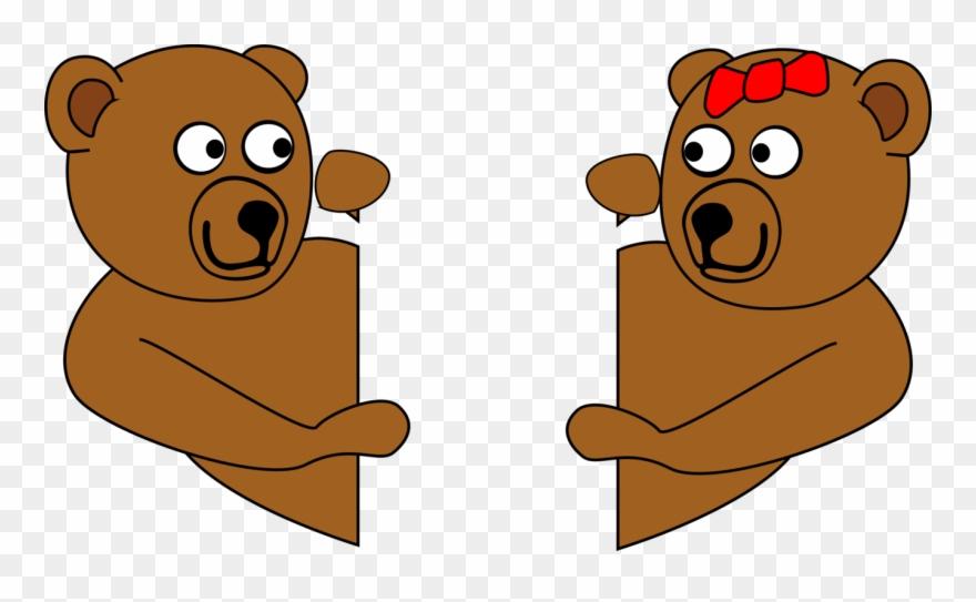 Romantic Dinner Free V Day Teddy Bears Looking Around.