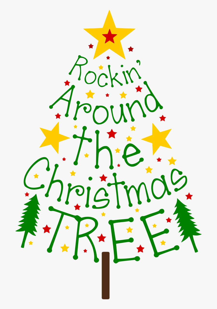 Rockin Around The Christmas Tree Clipart , Free Transparent.