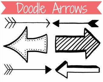 Cute arrows clipart.