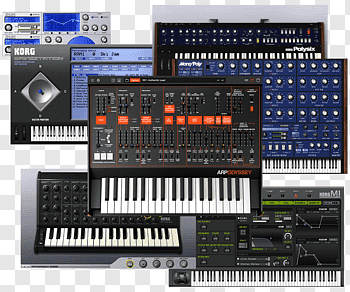 Arp Odyssey cutout PNG & clipart images.