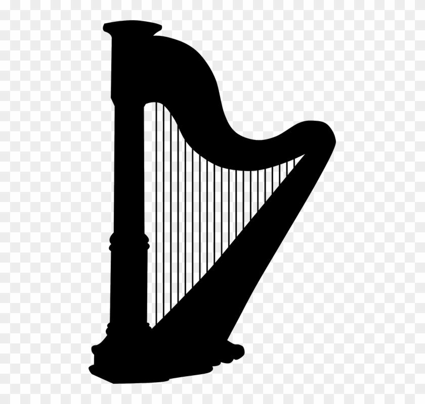 Arpa, Instrumento Musical, Instrumento De Cuerda.