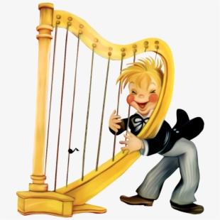 Harp Clipart Transparent.