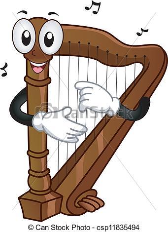 Harp Mascot.