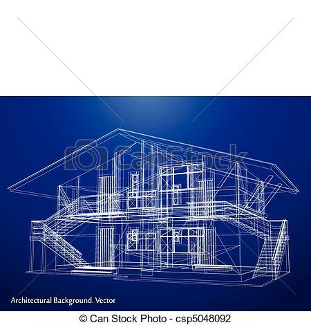 Ilustraciones de Vectores de cianotipo, vector, casa, arquitectura.