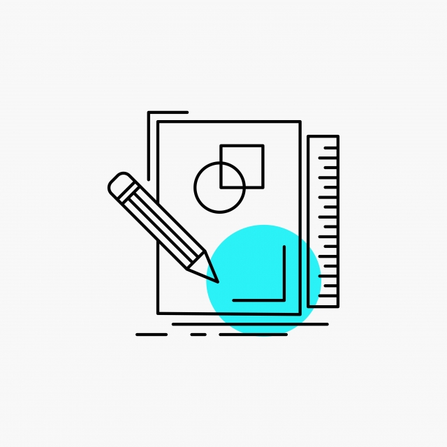 Sketch Sketching Design Draw Geometry Line Icon, Architecture.